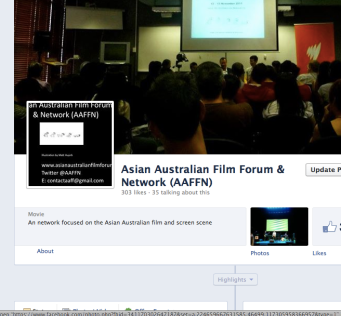 Image of AAFFN FB page
