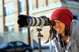Woozy behind the lens