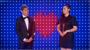 "Hosting Hit Chinese TV show ""If you are the one"" on SBS2 with Jamaica Dela Cruz"