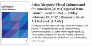 Asian Diasporic Visual Cultures and the Americas