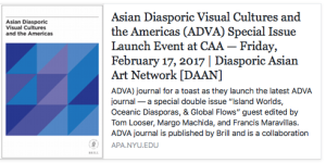 Asian Diasporic Visual Cultures and the Americas